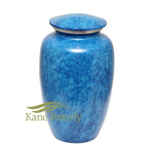 U8405 Blue sky aluminum urn