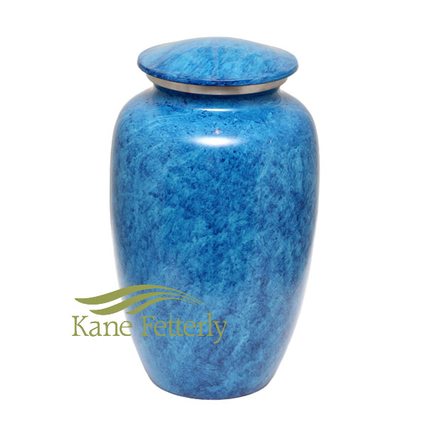 U8405 Sky Blue Aluminum urn