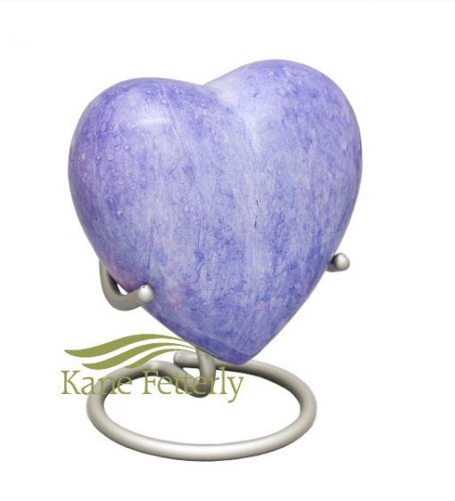 U8418H Heart miniature urn