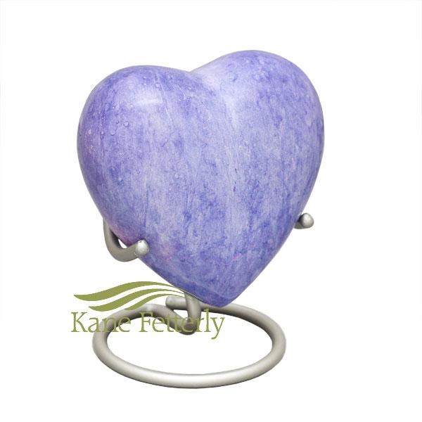 U8418H Urne miniature en coeur