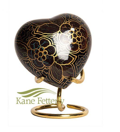 U8425H Heart miniature urn