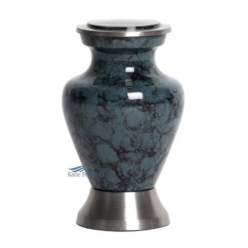 U85021K Aluminum grey miniature urn