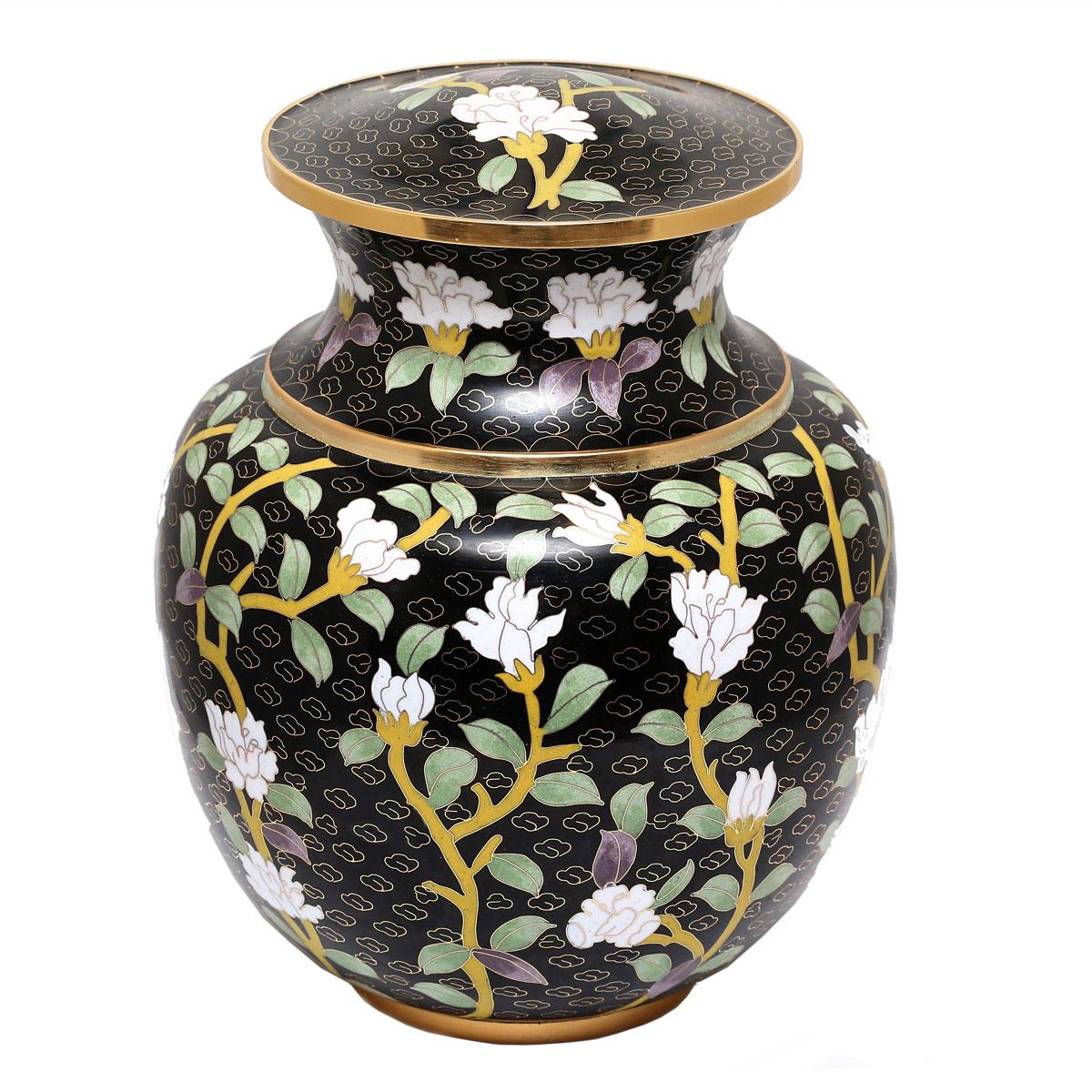 U8579 Cloisonn� urn