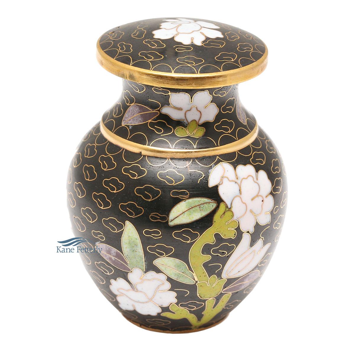 U8579K Cloisonn� miniature urn
