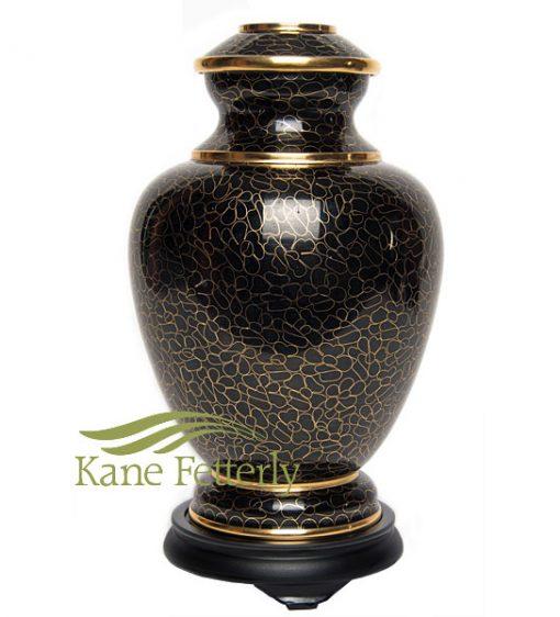 U8581 Cloisonné urn
