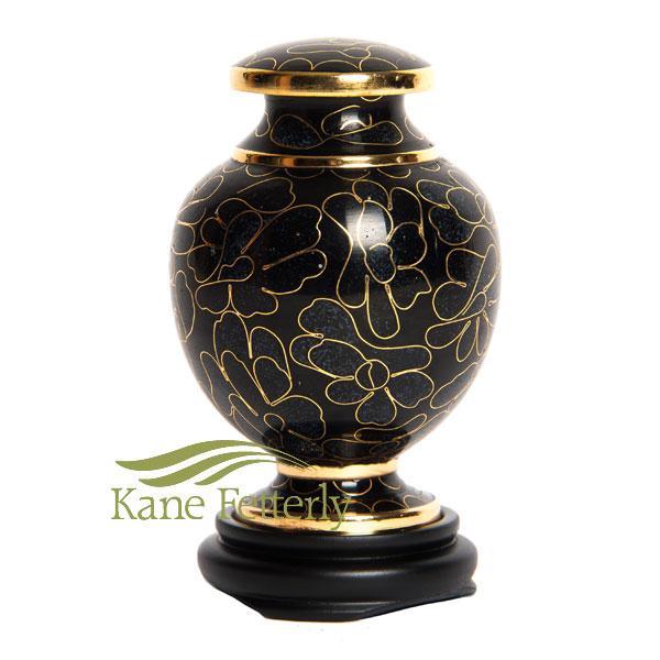 U8581K Cloisonn� miniature urn