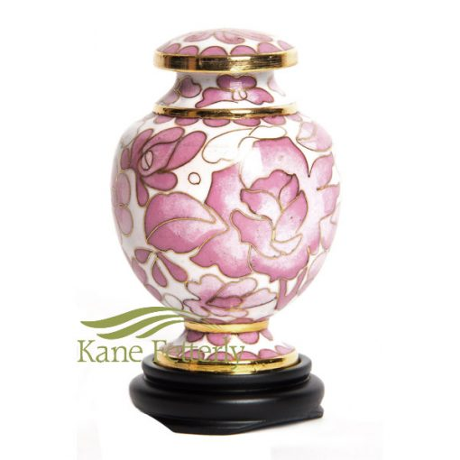 U8583K Urne Miniature Rose