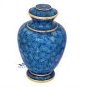 Blue Cloisonné urn