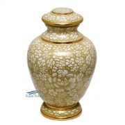U8585 Cloisonné urn