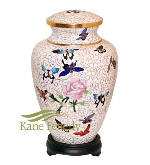 U8586 Cloisonné urn