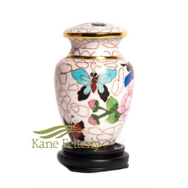 U8586K Cloisonn� Miniature Urn