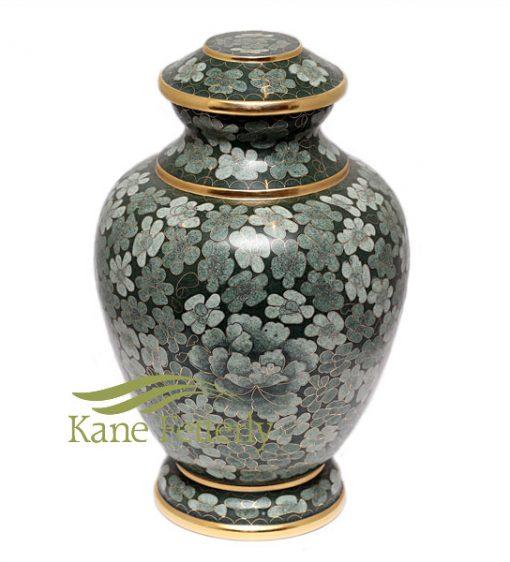 U8588 Cloisonné urn