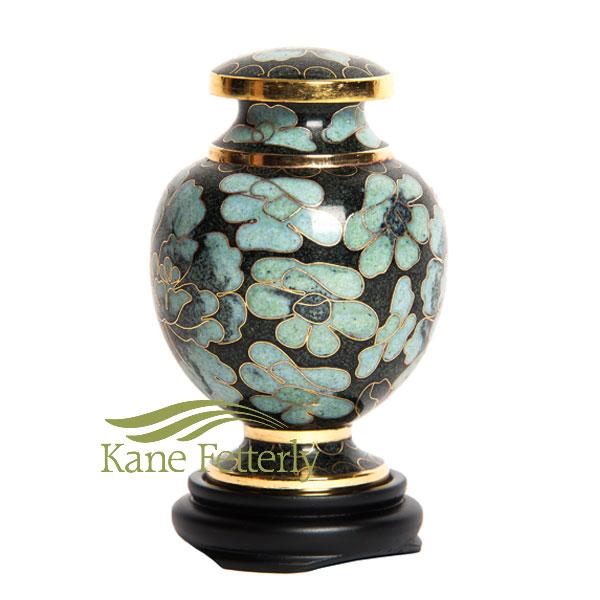 U8588K Cloisonné Miniature Urn