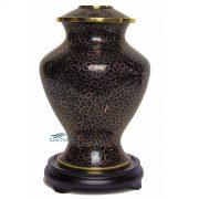 Cloisonné urn