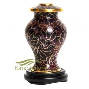 U8596K Cloisonné Miniature Urn