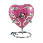 U8634H Heart miniature urn