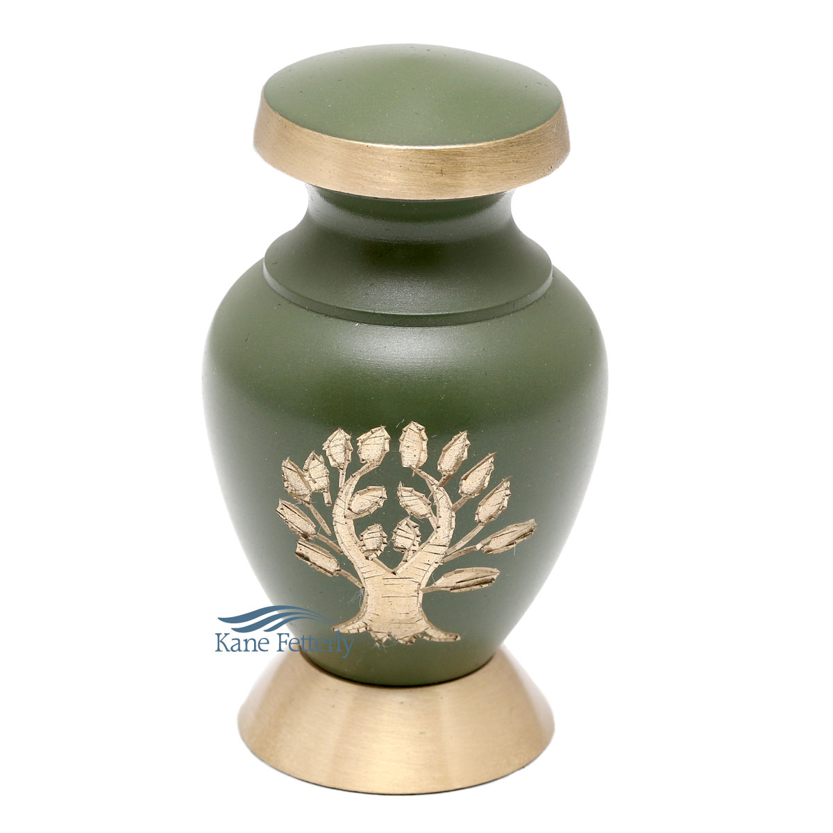 U86459K Miniature urn with tree