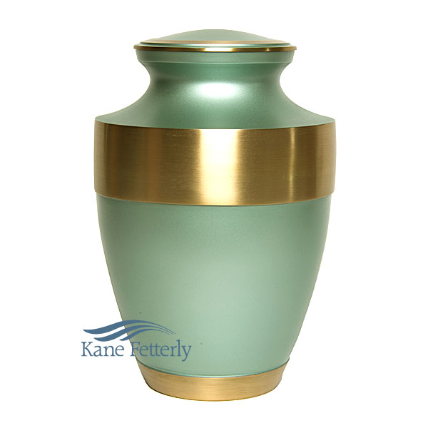 U86571 Brass urn