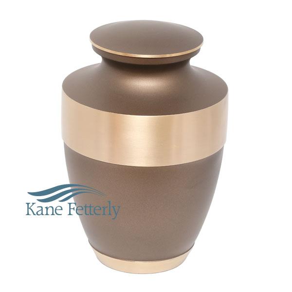 U86579 Brass urn
