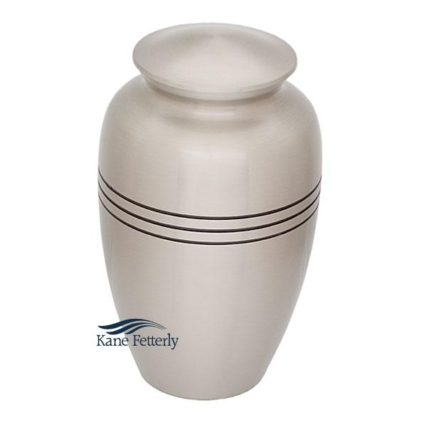 U86592 Brass urn
