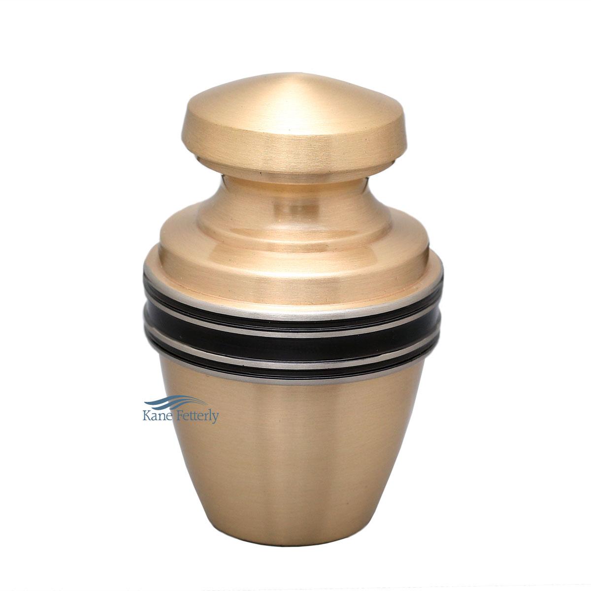 U86594K Brass miniature urn