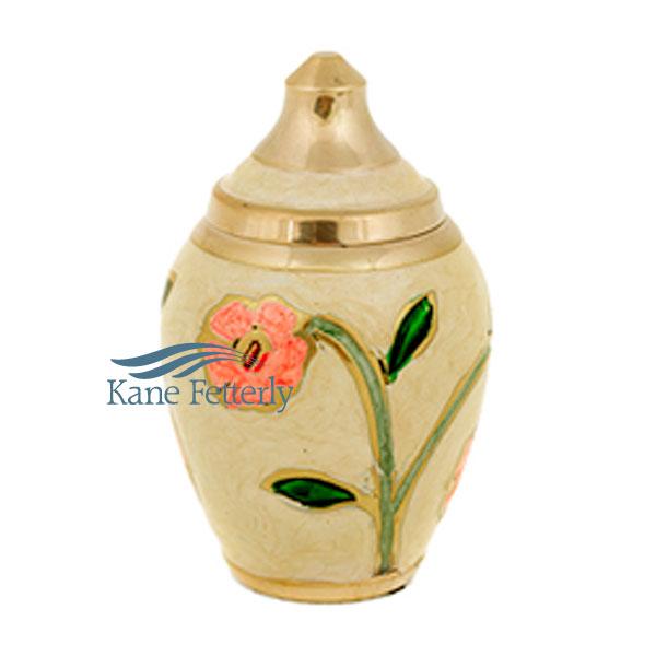 U8668K Brass miniature urn