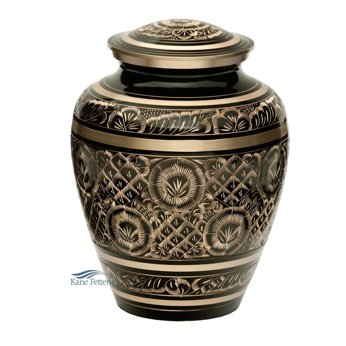 U86720 Brass urn
