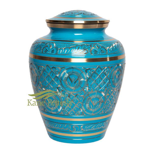 U86721 Brass urn