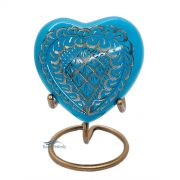 U86721H Heart miniature urn