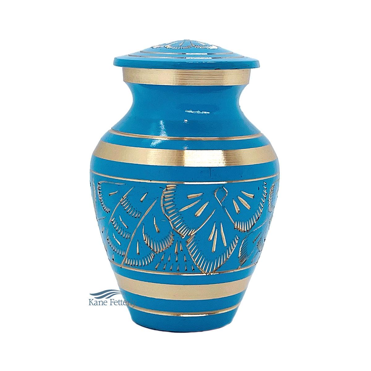 U86721K Brass miniature urn