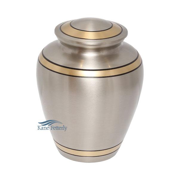 U8681 Brass urn