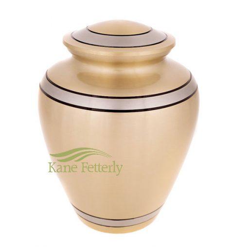 U86811 Brass urn