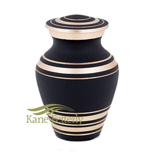 U86812K Brass miniature urn