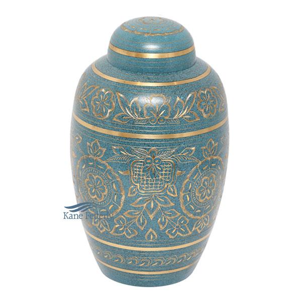 U8682 Brass urn