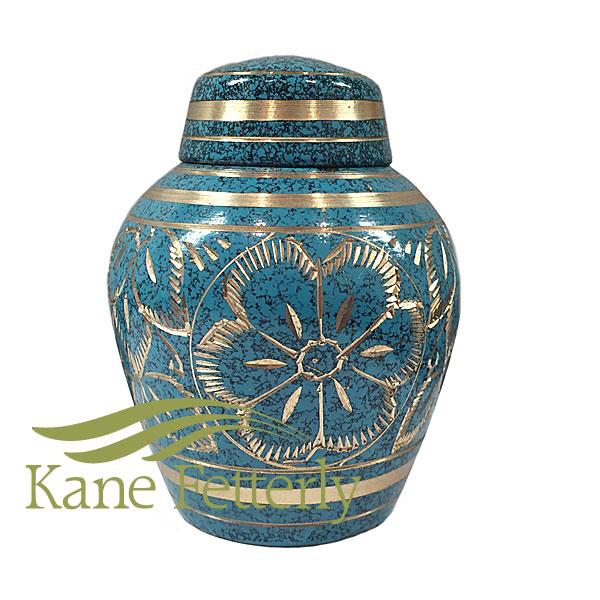 U8683K Brass miniature urn