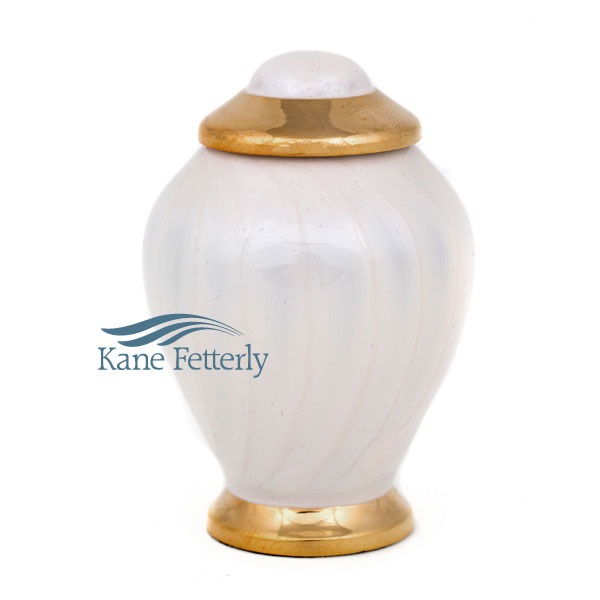 U86840K Brass miniature urn