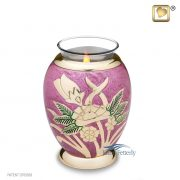 Tealight miniature keepsake urn