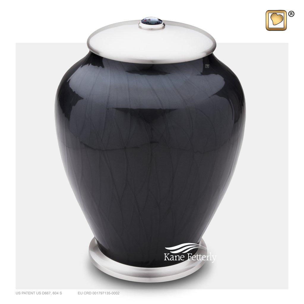 U8690 Urn with Swarovski� crystal