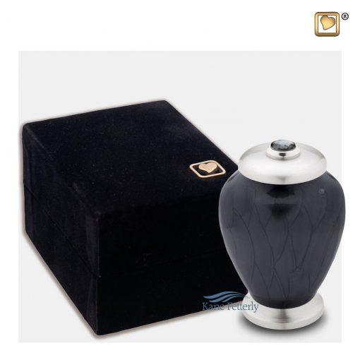Brass miniature urn