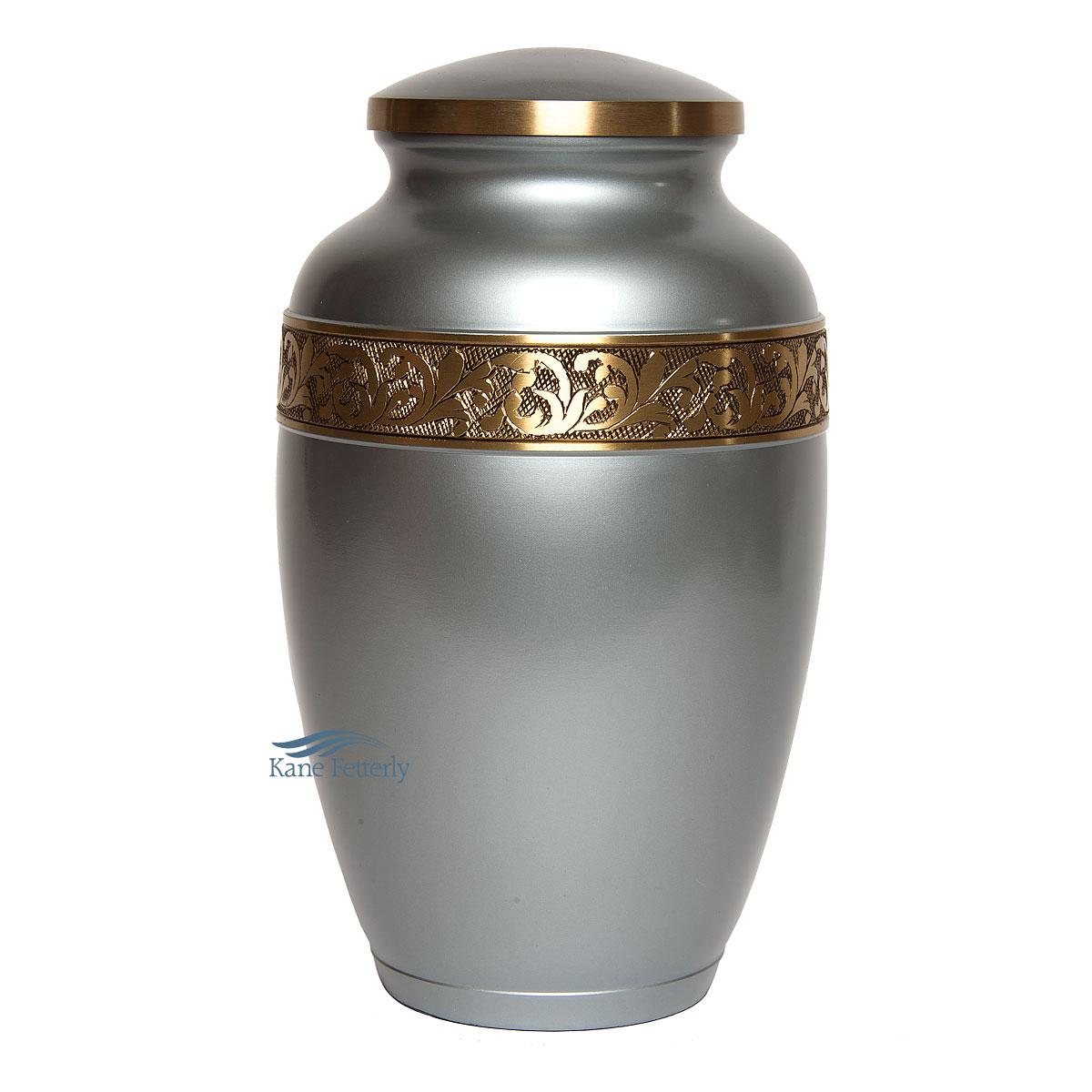 U8694 Brass urn