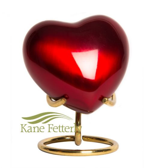 U8697H Red brass heart