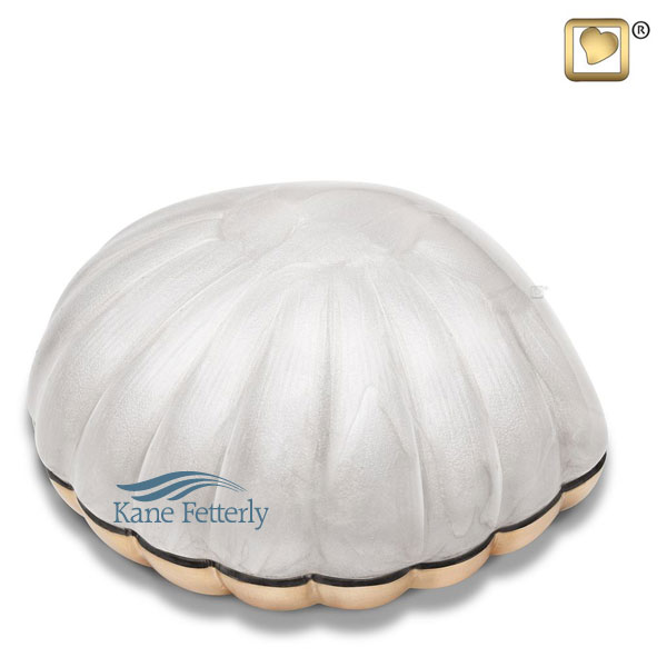 U8703S Seashell miniature urn