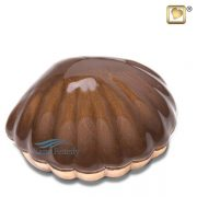 Seashell miniature urn