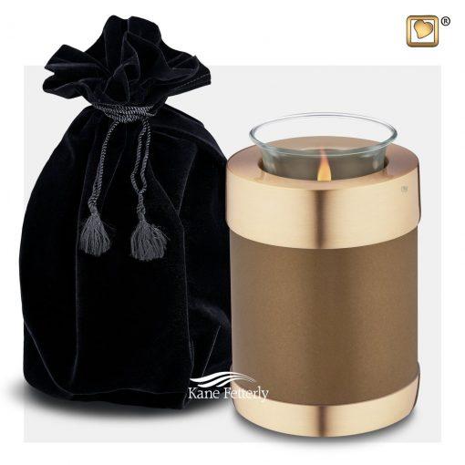 Tealight miniature urn