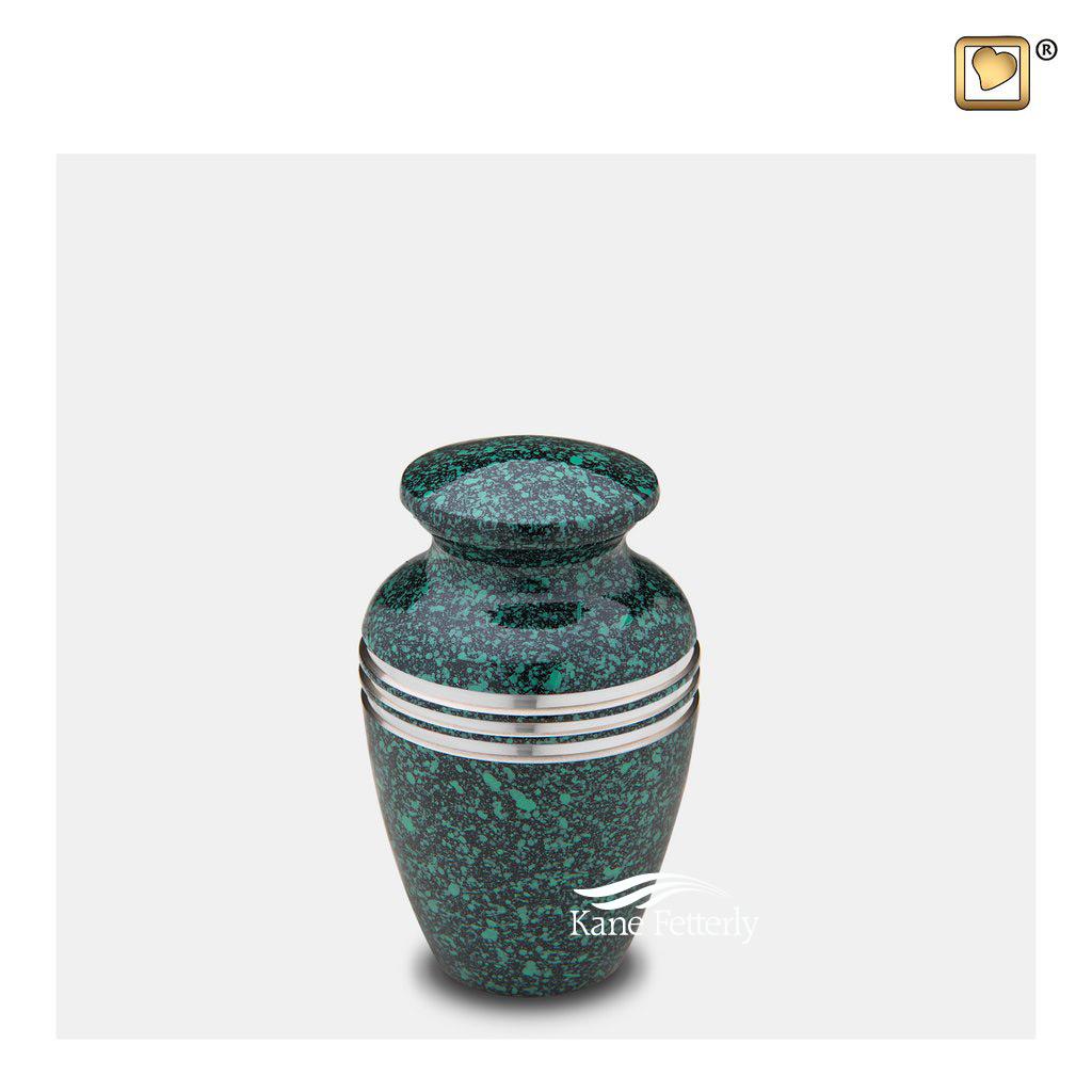 U8733K Brass miniature urn