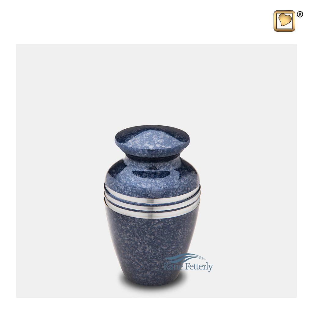 U8735K Brass miniature urn