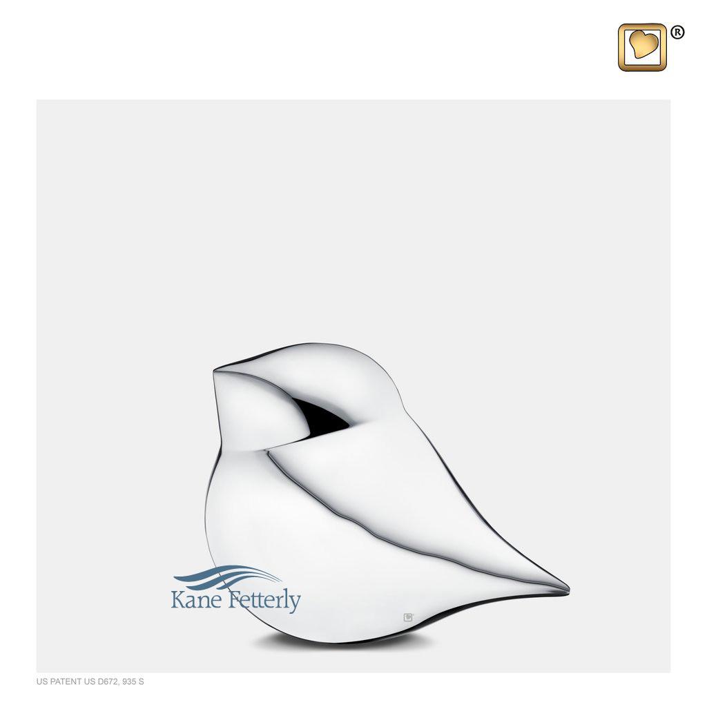 U8752K Bird miniature urn
