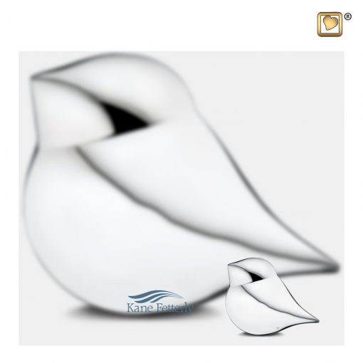Bird miniature urn