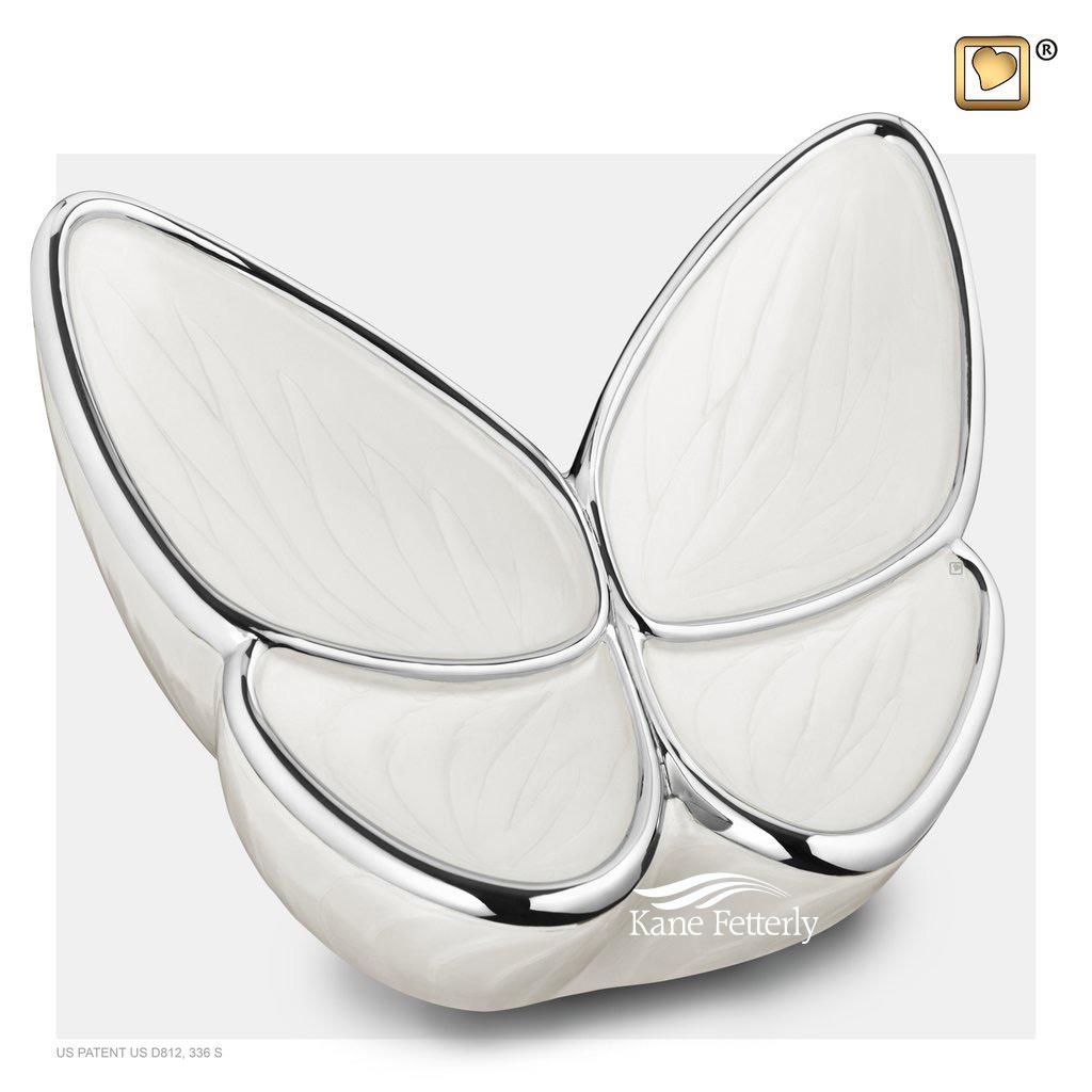 U8810 Butterfly urn