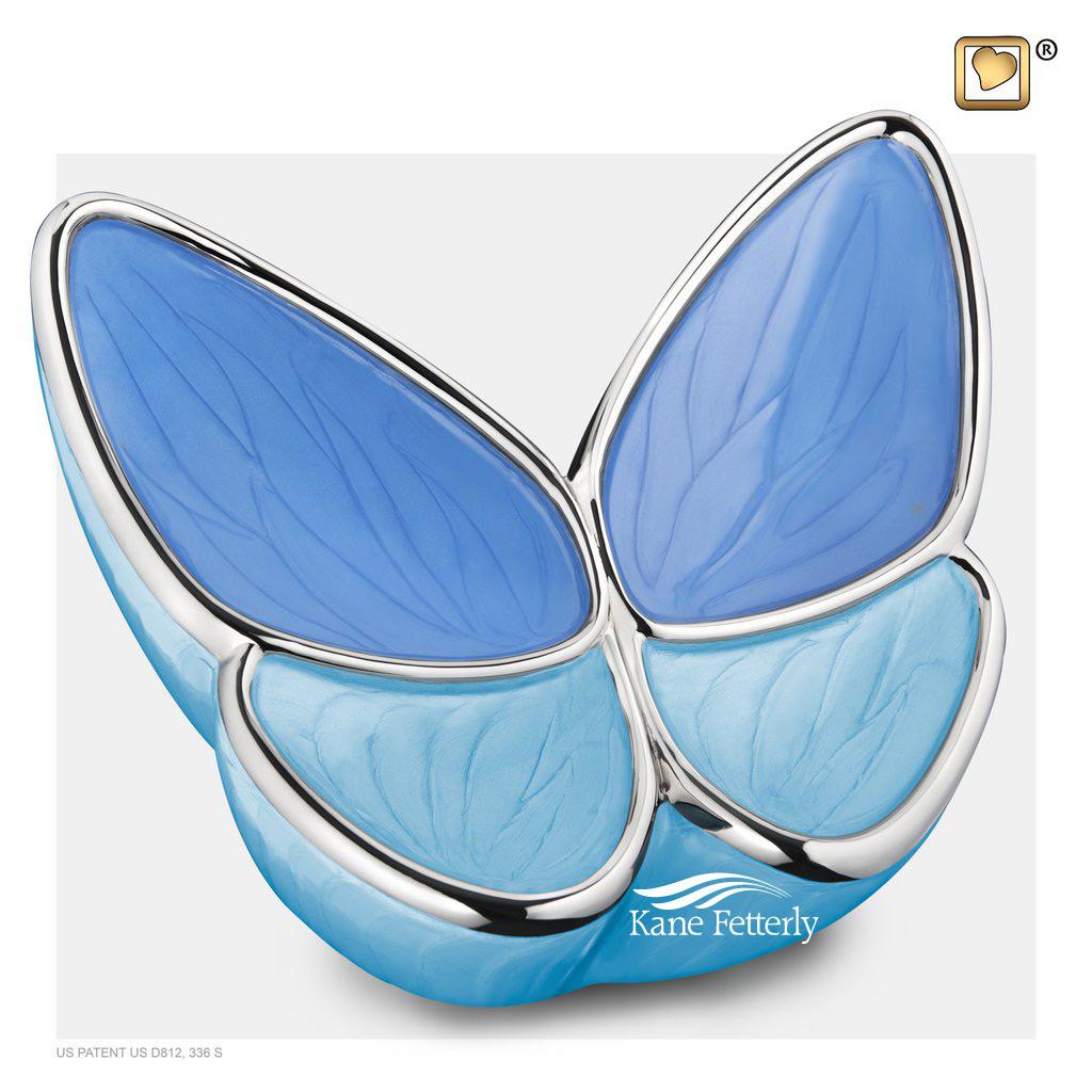 U8812 Butterfly urn